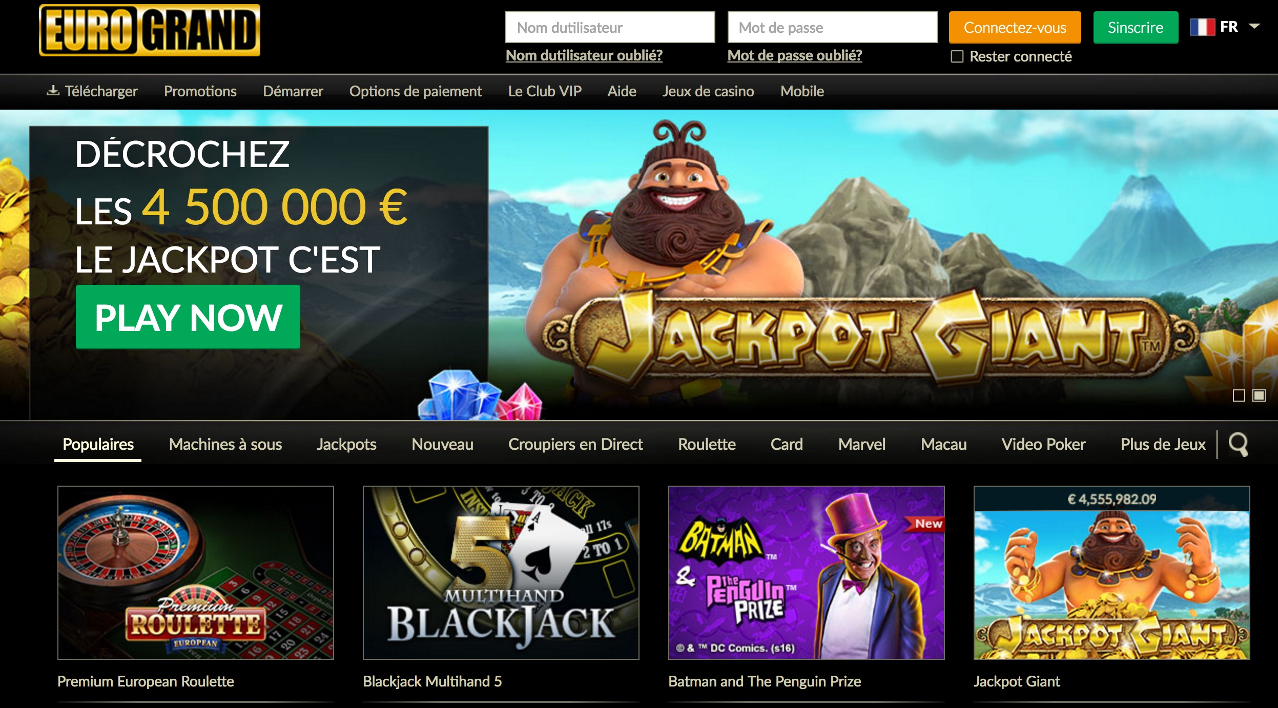 Eurogrand casino review : one of the best online casinos ?